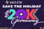 Sezzle Save The Holiday $20k Giveaway