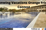 Sunwing Vacations Orange Friday Contest