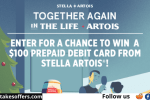 Stella Artois Holiday Gathering Sweepstakes
