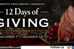 Boarshead.com/12days