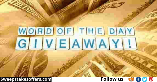 The Doctors TV Word Of The Day Giveaway