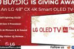 BuyDig LG Smart OLED TV Giveaway