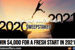 Frankly Media New Year New Adventure Sweepstakes