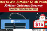 JGMaker Christmas Giveaway