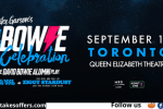 Bowie Show Tickets In Toronto Contest