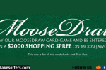 Moosejaw Card Game Sweepstakes