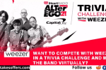 iHeartRadio Trivia Challenge With Weezer Sweepstakes
