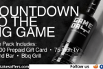 Gameday Vodka Ultimate Game Day Experience Giveaway