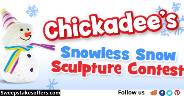 Chickadee Snowless Snow Sculpture Contest