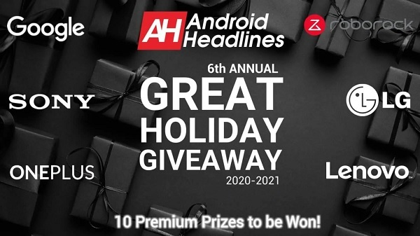 Android Headlines Great Android Holiday Giveaway