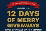 Cinemark's 12 Days of Merry Giveaway