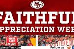 49ers Faithful Fan Appreciation Sweepstakes