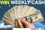 Taxhawk Weekly Cash Giveaway