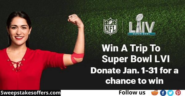 American Red Cross Super Bowl LVI Giveaway