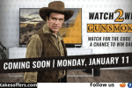 INSP Watch 2 Win Gunsmoke Sweepstakes