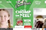 Frigo Cheese Chomp Peel Sweepstakes