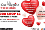 ShopLC Valentine's Day Sweepstakes