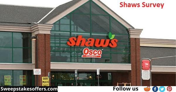 Shaws.com/survey