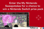 Super Mario Bros Mission Sweepstakes