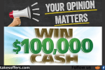 OpinionSquare Your Opinion Matters Sweepstakes