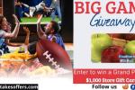 Food Town Big Game Giveaway