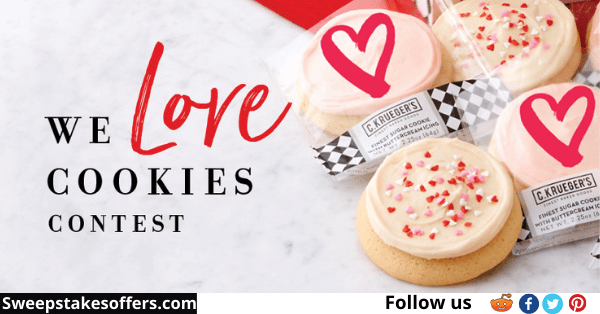 C Krueger's We Love Cookies Contest