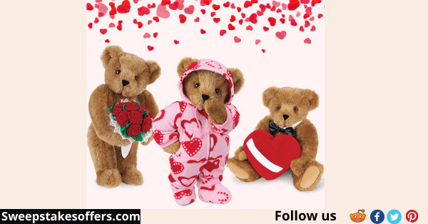 Beary Romantic Valentine's Giveaway