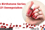 Essie Birthstone Series 2021 Sweepstakes