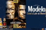 Modelo Lions Lair at Home Sweepstakes