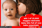 Huggies Welcome To The World Baby Sweepstakes