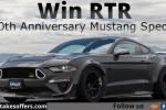 Omaze Ford Mustang Giveaway