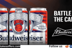 Budweiser Battle Cans Sweepstakes