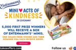 Entenmanns Mini Acts of Kindness Sweepstakes