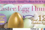 Country Sampler Easter Egg Hunt Giveaway