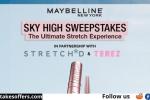 Maybelline New York Sky High Sweepstakes