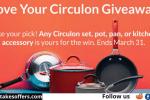 Love Your Circulon Sweepstakes
