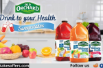 Old Orchard Drink to Your Health Sweepstakes