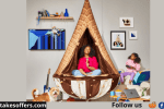 Klondike Cone Zone Hanging Chair Giveaway