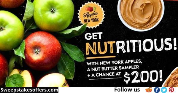 Apples From New York Nut Butter Giveaway