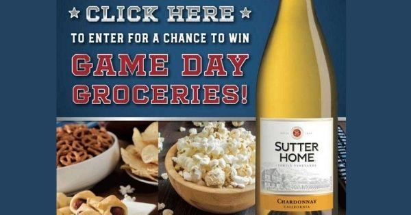 Sutter Home Groceries Sweepstakes