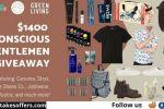Conscious Gentlemen Wardrobe Makeover Giveaway
