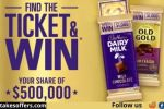 Cadbury Find The Ticket Competition