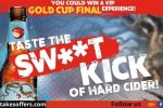 Angry Orchard Gold Cup Sweepstakes