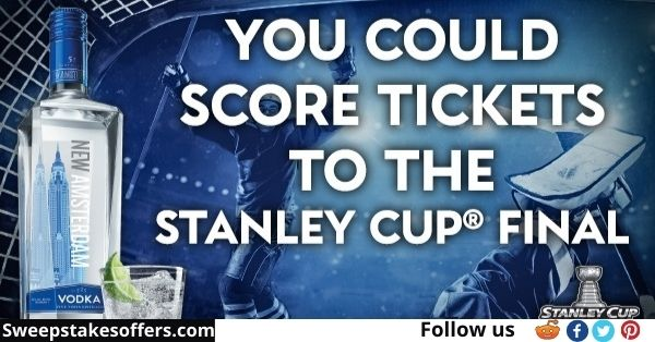 NHL Stanley Cup Final Vodka Sweepstakes