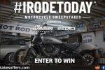 Revzilla Irodetoday Motorcycle Sweepstakes