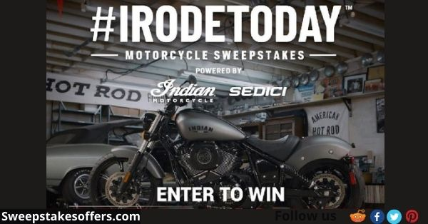 Revzilla Irodetoday Motorcycle Sweepstakes