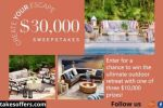 Frontgate Outdoor Escape Sweepstakes