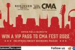 Beringer Bros CMA Fest 2022 Sweepstakes