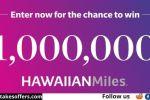 Hawaiian Airlines Hawaiian Miles Sweepstakes