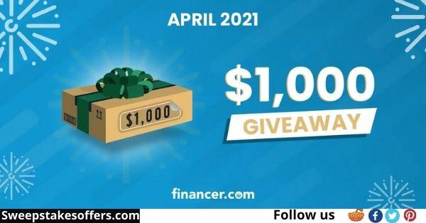 Financer $1000 Amazon Gift Card Giveaway